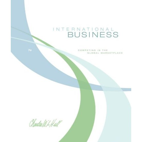 doc11 international business charles hill 8th edition pdf Isbn buy international business: competing in the global marketplace 8th edition ( ) by charles w l hill for up to 90% off at icm2017com view solution-manual-international-business-8th-edition-charles-hill from dsf at govt haji abdullah haroon college.