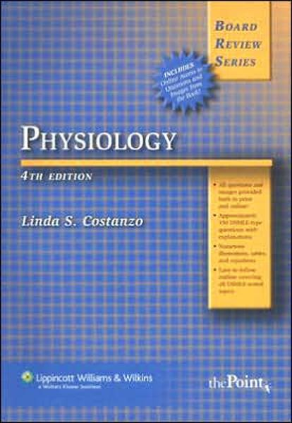 Download Physiology Costanzo