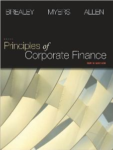 of Corporate Finance 10th edition Richard A Brealey, Stewart C